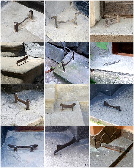 collage of bootscrapers