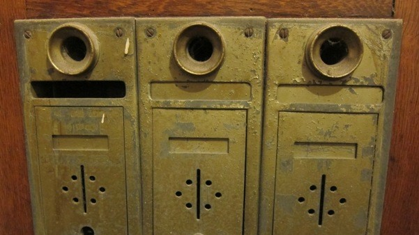 Mailbox with Speaking Tubes – Forgotten Galicia