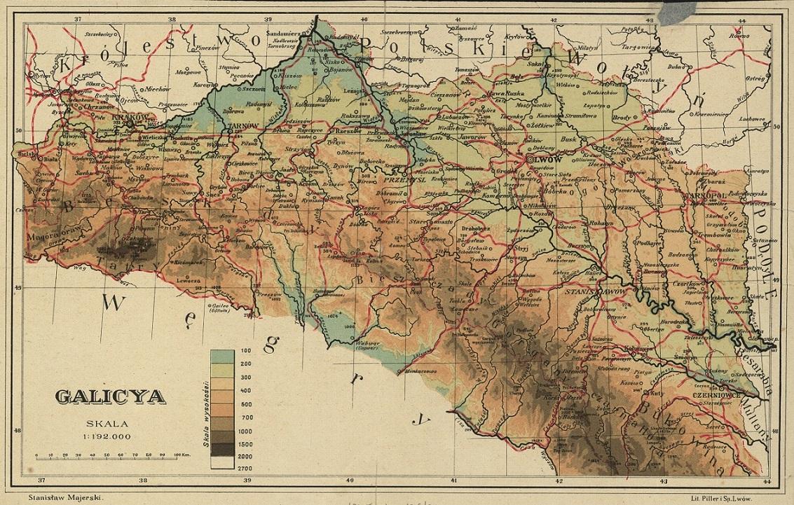 Historical Maps Of Galicia 1775 1918 Forgotten Galicia